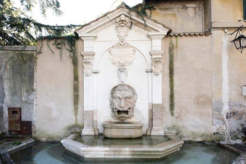 Fontana del Mascherone, Spoleto