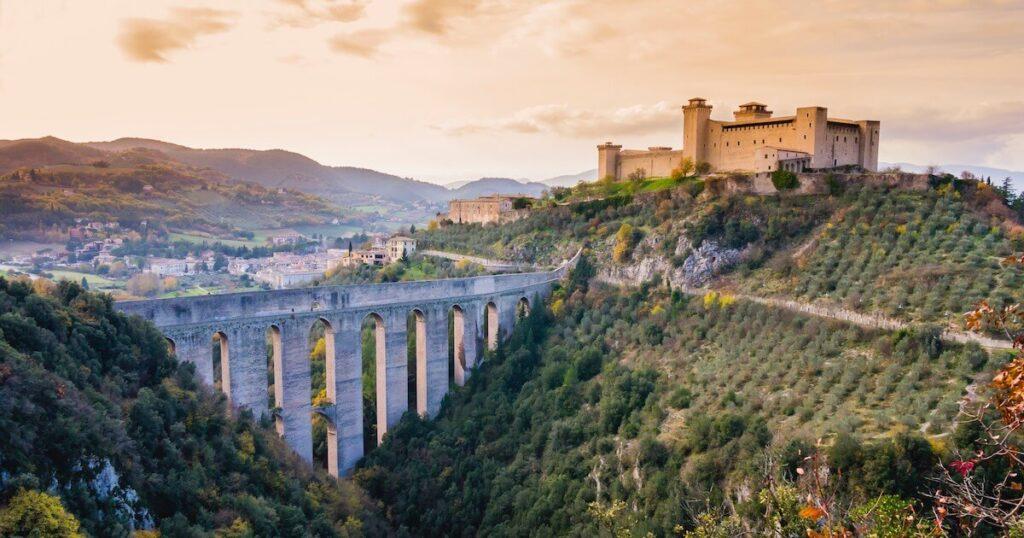 Ponte delle Torri,Spoleto
