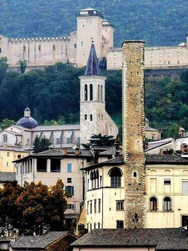 Torre del olio, Spoleto