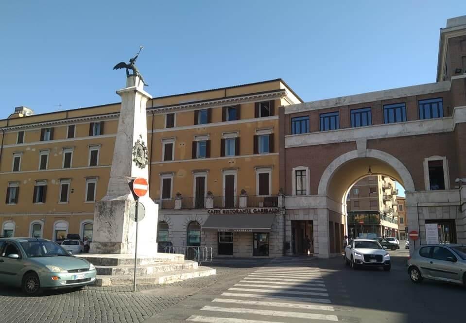 piazza garibaldi, Spoleto