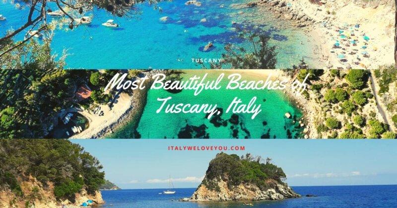 Beaches of Tuscany, Italy