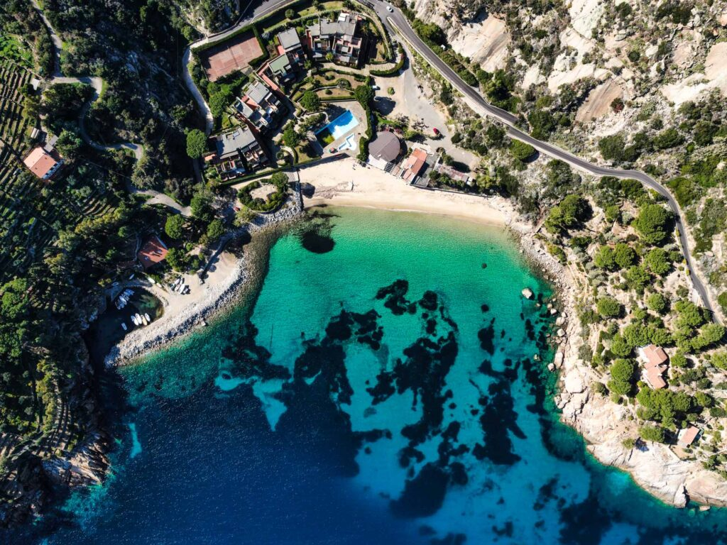 Cannelle Beach, Giglio Island