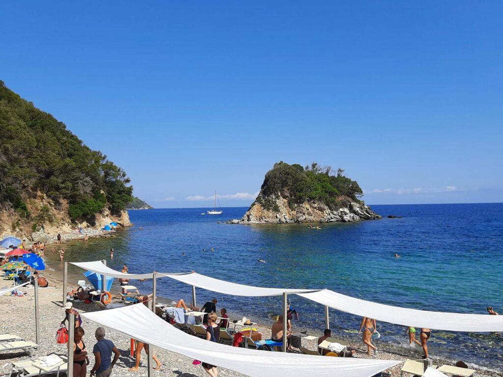 La Paolina Beach, Island of Elba