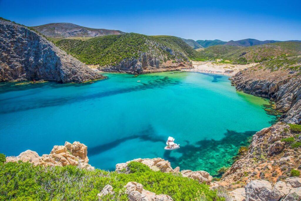 Cala Domestica Beach, Sardinia