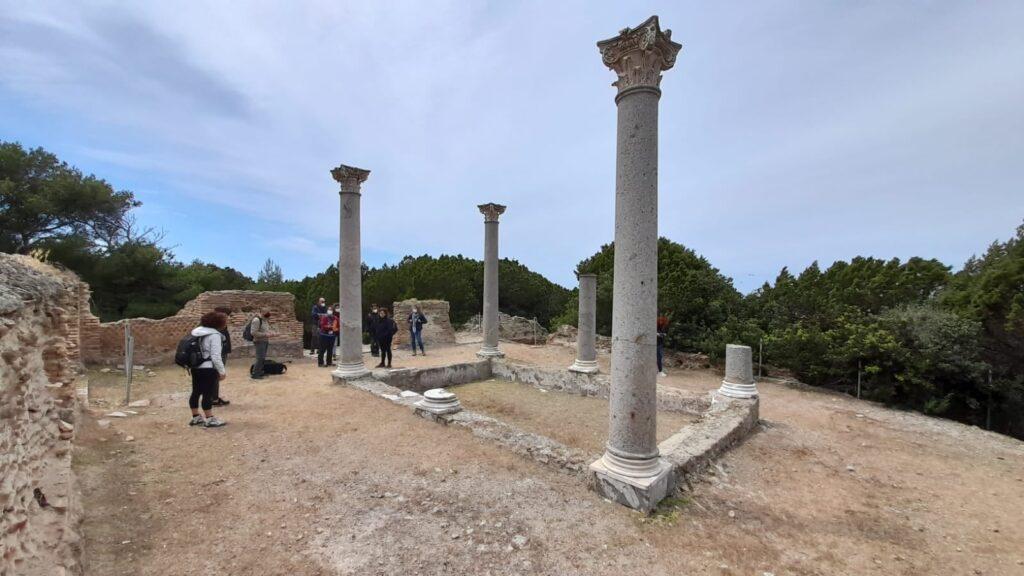 Giannturi island, roman villa
