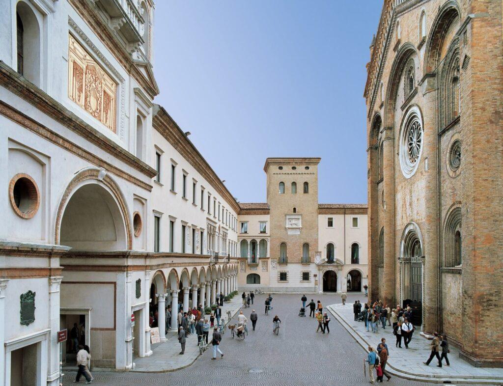Piazza Duomo, Crema, Italy.