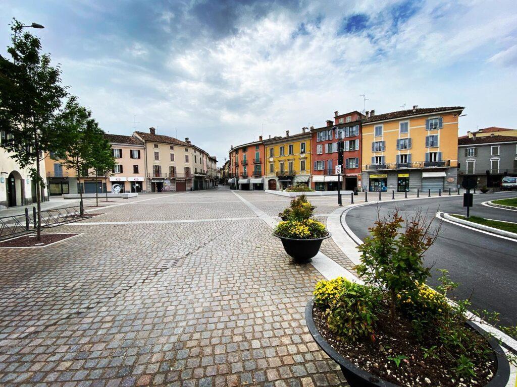 Piazza Garibaldi, Crema, Italy