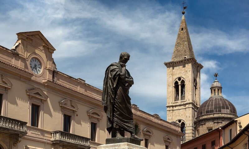 Sulmona-Publio Ovidio Nasone